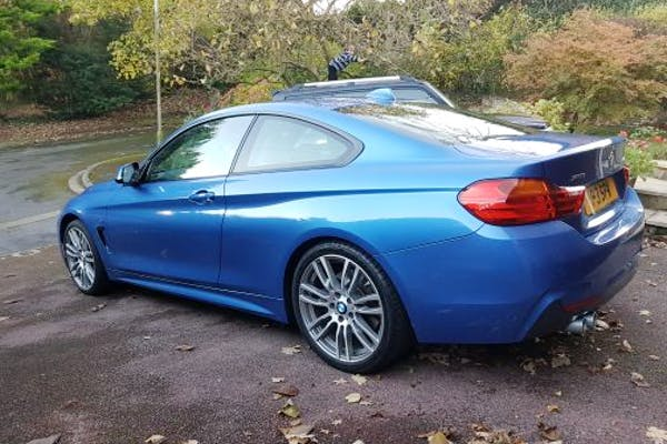 Rent a cheap BMW 435d Xdrive M Sport Auto from Stuart in Chesham, HP5