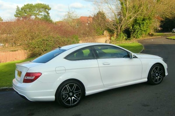 Hire A Cheap Mercedes Benz C250 Amg Sport Cdi Blueef Cy From Simon
